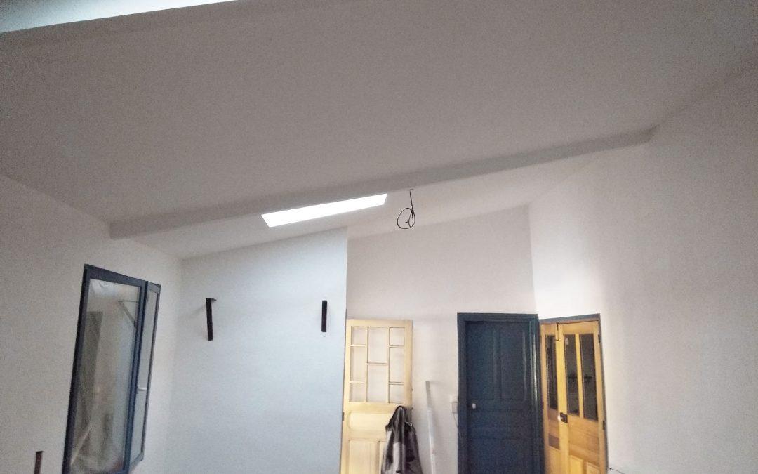 Rénovation d'un salon à Manglieu